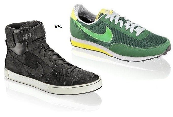 Das Sneaker-Duell: Hi Tops vs Low Tops - Teil 2