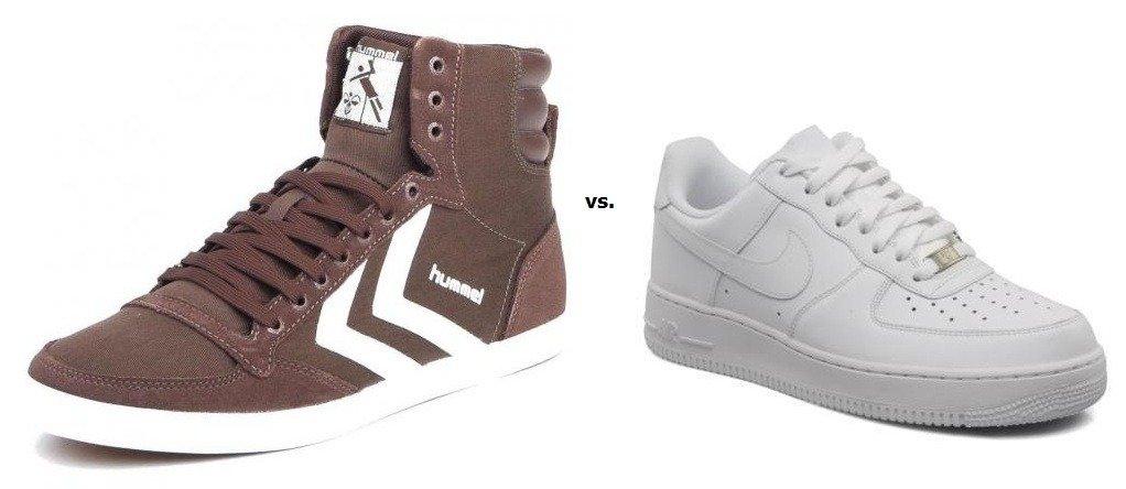 Hohe Sneakers oder tiefe Sneakers? – Teil 1