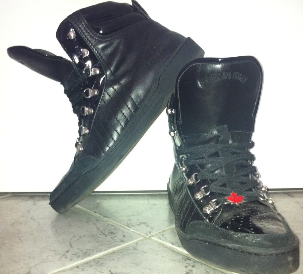 Sneaker des Tages: Dsquared High Tops Black