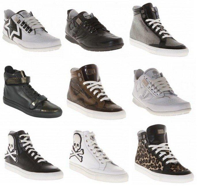 "PHILIPP PLEIN Sneakers 2012 - nur ""CopyCats""?"