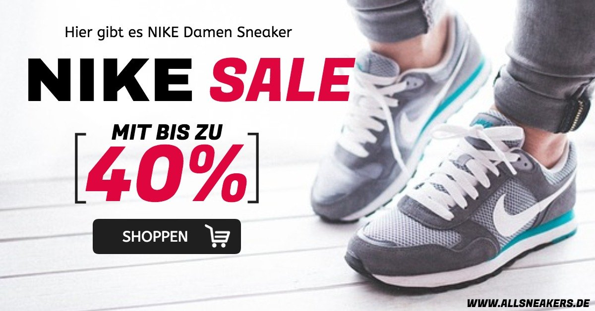 SALE: NIKE Damen Sneaker - AllSneakers - we love Kicks