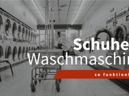 Schuhe & Waschmaschine