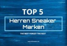 Top 5 Herren Sneaker Marken
