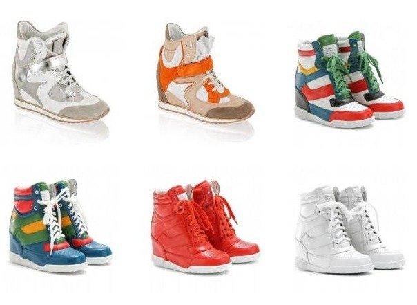 Wedge Sneakers: Wie eine neue Sneaker-Form die Welt erobert - Teil 1