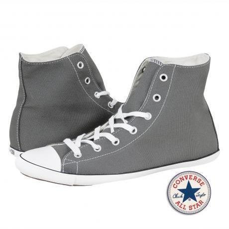 converse all star light core high sneakers charcoal. Black Bedroom Furniture Sets. Home Design Ideas