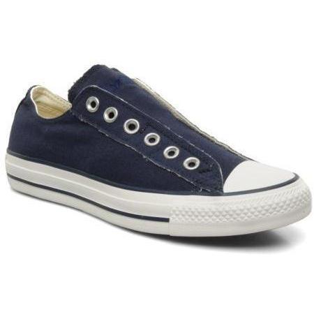 converse chuck taylor all star slip on ox w by converse sneakers f r damen blau. Black Bedroom Furniture Sets. Home Design Ideas