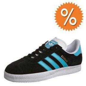 adidas Originals GAZELLE 2 Sneaker black/super cyan