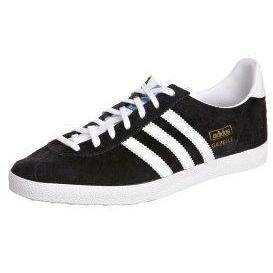 adidas Originals GAZELLE OG Sneaker low black/white/metallic gold