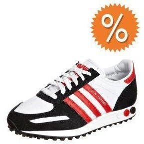 adidas Originals LA TRAINER Sneaker run white / red / black