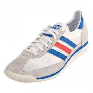 adidas Originals SL72  Sneaker white/satellite/poppy