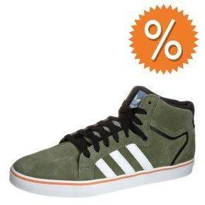 adidas Originals SUPERSKATE LV MID Sneaker green blend/running white/super orange