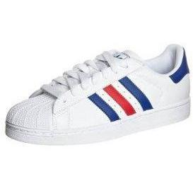 adidas Originals SUPERSTAR II Sneaker low white/collegiate royal/collegiate red