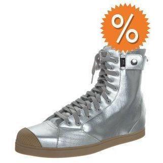 adidas sneaker high silver