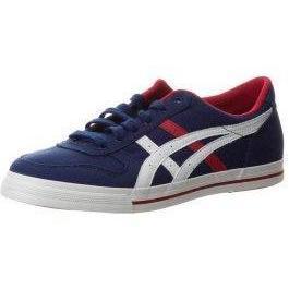 ASICS AARON CV Sneaker low medieval blue/tango red