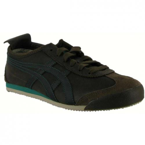 Asics Tiger Mexico 66 brown black ocean