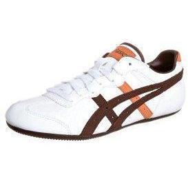 ASICS WHIZZER LOW Sneaker white/deep mahagony