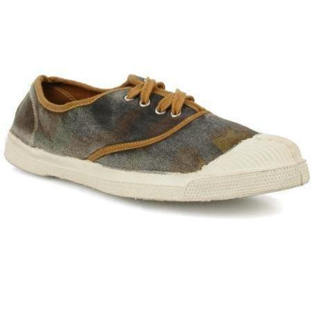 Tennis lacets camouflage by Bensimon