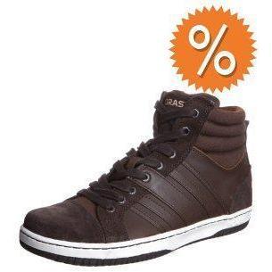 Boras BLAZER MID Sneaker chocolate/dark brown