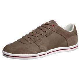 Boras CONTACT LO Sneaker taupe/white/chili