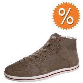 Boras CONTACT MID Sneaker taupe/ white / chili