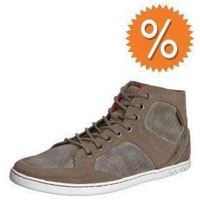 Boras URBAN MID Sneaker taupe / white