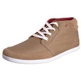 Boxfresh EAVIS CANVAS Sneaker taupe/dark red