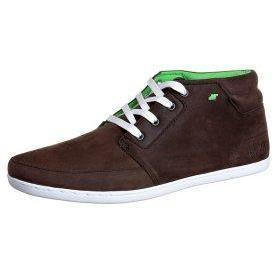 Boxfresh EAVIS Sneaker dk brown/lime