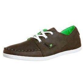 Boxfresh KEEL ORI Sneaker dark brown/lime