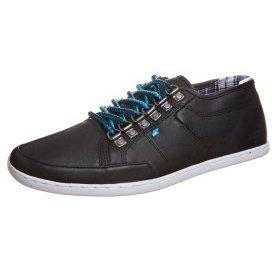 Boxfresh SPARKO DRING LEATHER Sneaker black blue check lining