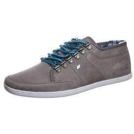 Boxfresh SPARKO DRING LEATHER Sneaker grey blue check lining