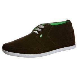 Boxfresh VOLT2 Sneaker dark brown/lime