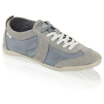 Flat Trainer Sneaker Buffalo grau