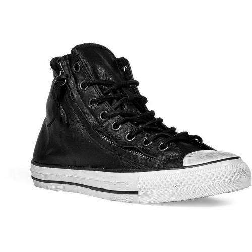 Black JV AS Double Zip Hi Sneakers
