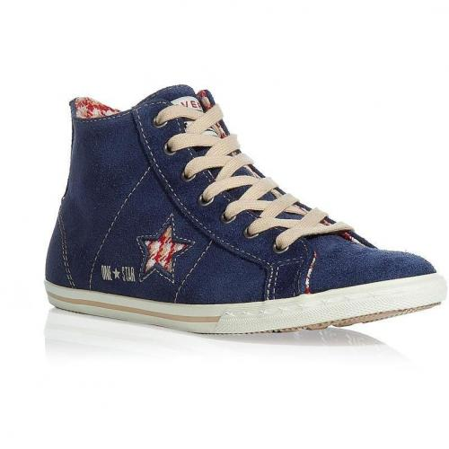 Blue One Star suede sneakers