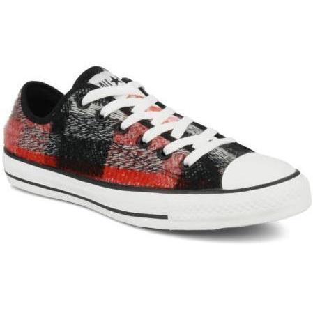Chuck taylor all star sketchy plaid ox w by Converse
