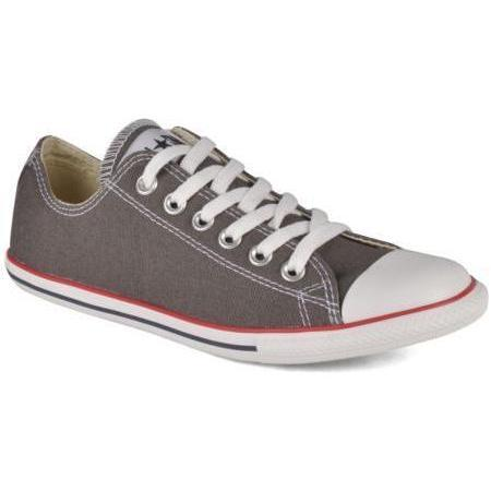 Converse - Chuck Taylor All Star Slim Canvas Ox W by Converse - Sneakers für Damen / grau
