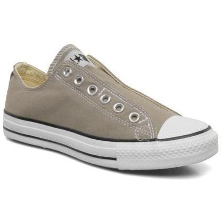 Converse - Chuck taylor all star slip on ox w by Converse - Sneakers für Damen / grau