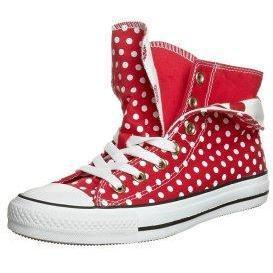 Converse CHUCK TAYLOR AS POLKA DOT TWO FOLD HI Sneaker high rouge/blanc