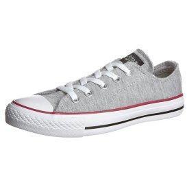 Converse CHUCK TAYLOR SWEATSHIRT OX GY Sneaker low grey/red/black