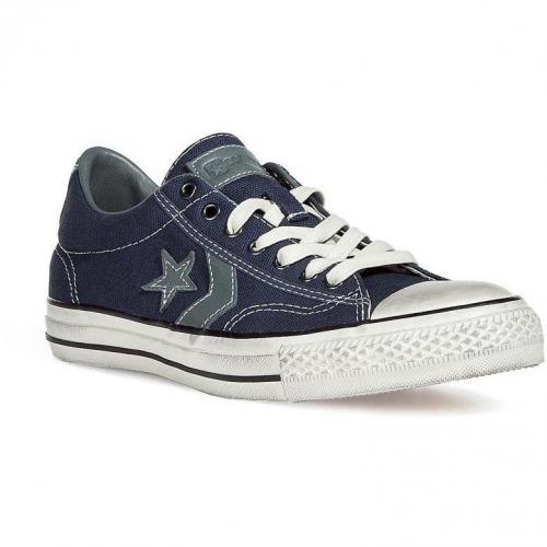Navy/White John Varvatos Star Player Ox Sneakers