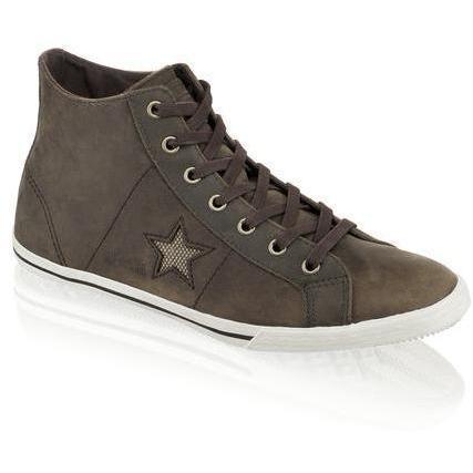 One Star Sneaker Converse braun kombiniert