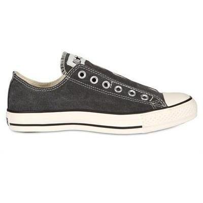 Converse - Slip In Washed Canvas Laceless Sneakers