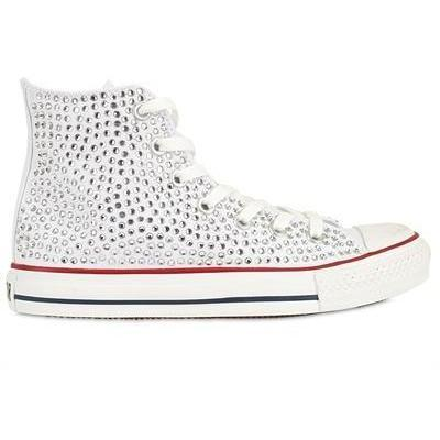 Converse - Sneakers Swarovsky Canavas Ankle