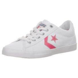 Converse STAR PLAYER LP Sneaker low white/camilla rose