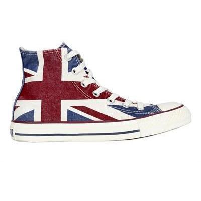 Converse - Uk Flagge Hohe Sneakers