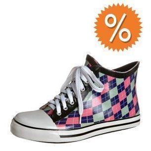 Däv ARGYLE Sneaker low bubblegum