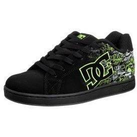 DC Shoes CHARACTER Sneaker black/soft lime