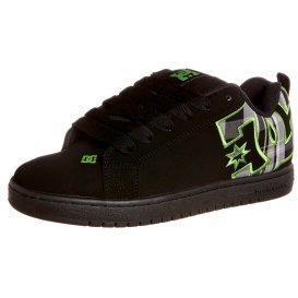 DC Shoes COURT GRAFFIK SE Sneaker black/lime green