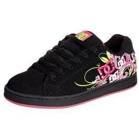 DC Shoes PIXIE Sneaker low black/crazy pink
