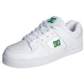 DC Shoes PURE SLIM Sneaker white/emerald